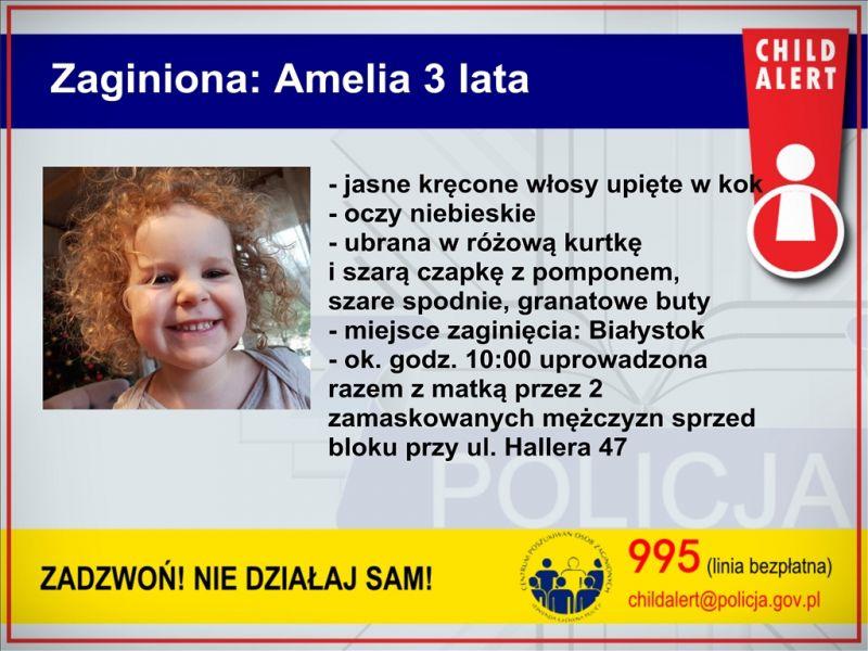 Child Alert-Porwanie matki i dziecka w Białymstoku