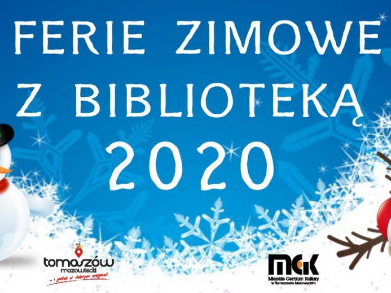 Ferie zimowe z biblioteką 2020