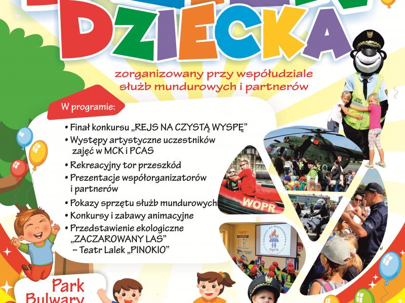 Miejsko-Powiatowy Dzień Dziecka w Parku Bulwary