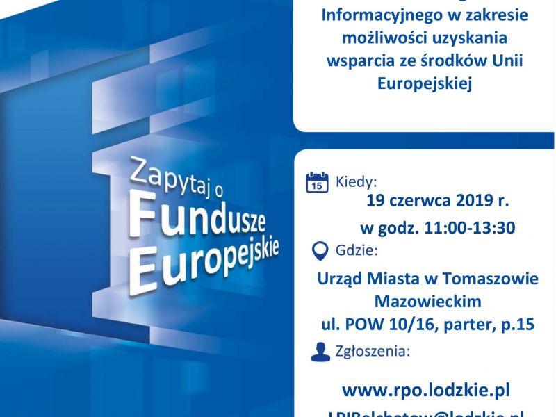 Fundusze Europejskie. Bezpłatne porady w magistracie