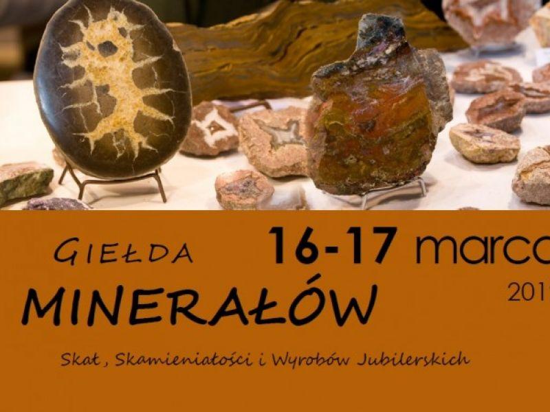 Muzeum zaprasza na Giełdę Minerałów