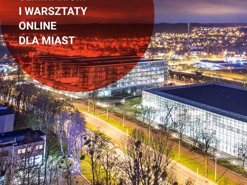 Transformacja cyfrowa a wewnętrzne potencjały miast ‒ warsztaty onlne