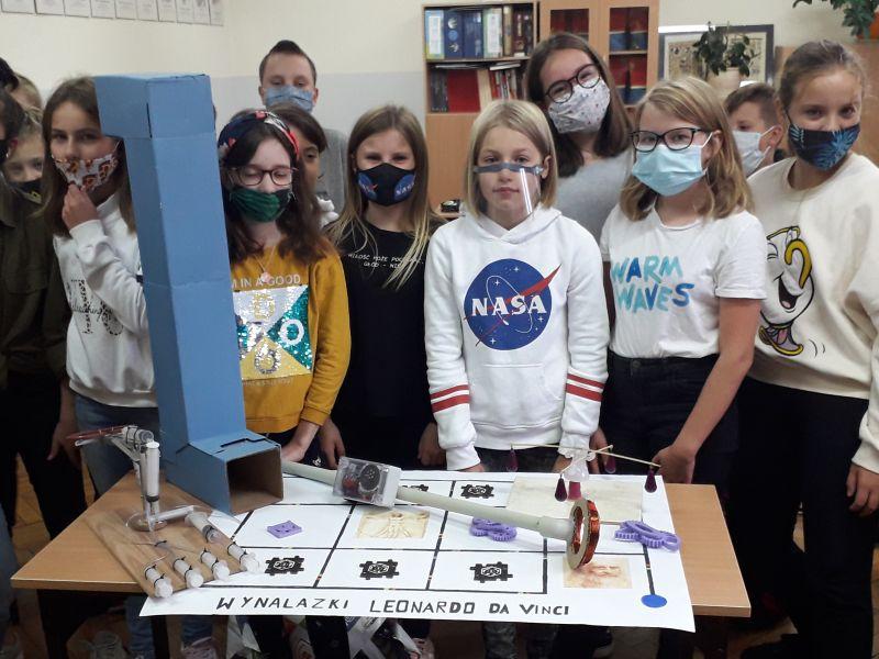 Na zdjęciu uczniowie SP nr 11 w trakcie realizacji programy