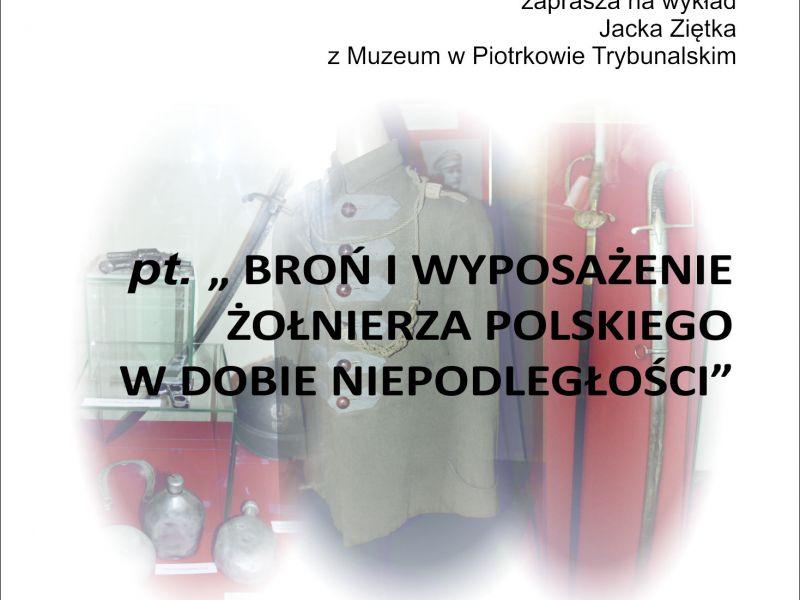 """Zaproszenie na wykład pt. """"Spotkania z historią i nie tylko..."""