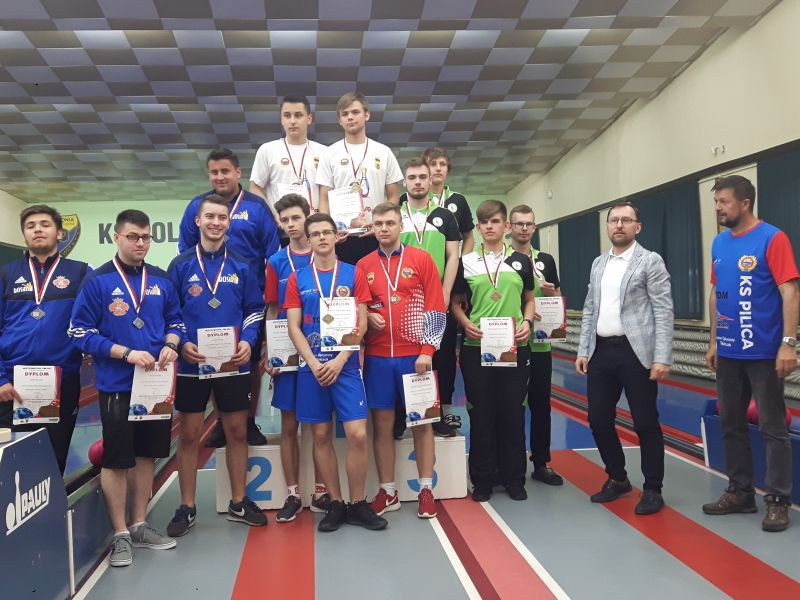 Pilica drużynowym mistrzem Polski juniorów w kręglarstwie
