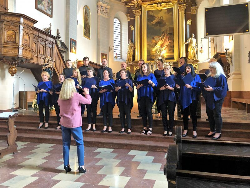 Na zdjęciu chór