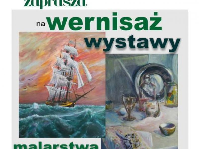 Wernisaż wystawy malarstwa Lecha Kozdroja