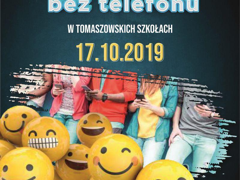 """""""Dzień bez telefonu w tomaszowskich szkołach#"""