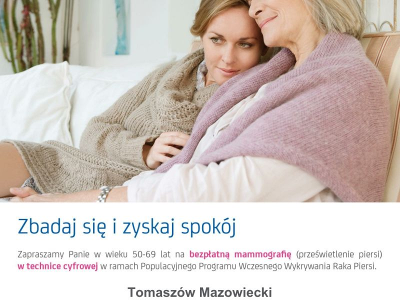 mammografia 13 stycznia