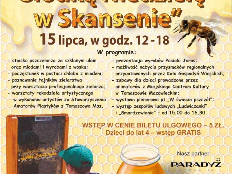 Plakat promujący słodką niedzielę