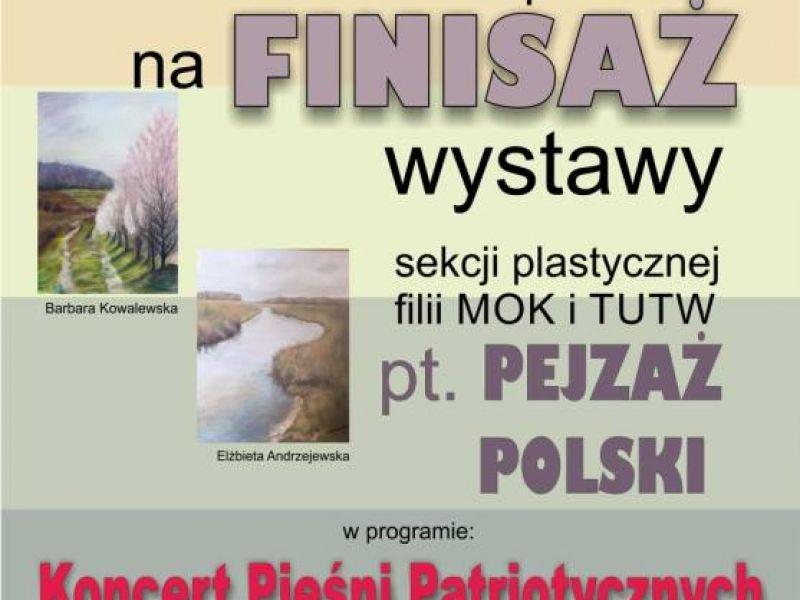 Pejzaż Polski - finisaż wystawy