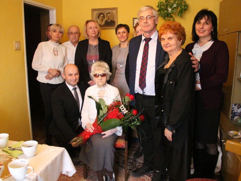 100 lat Pani Kazimiery