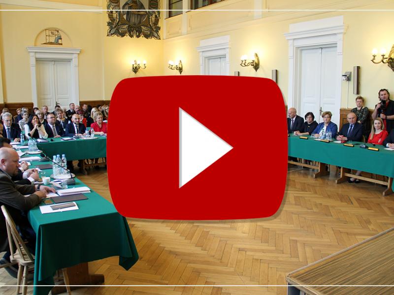 VIII sesja nadzwyczajna Rady Miejskiej [TRANSMISJA]