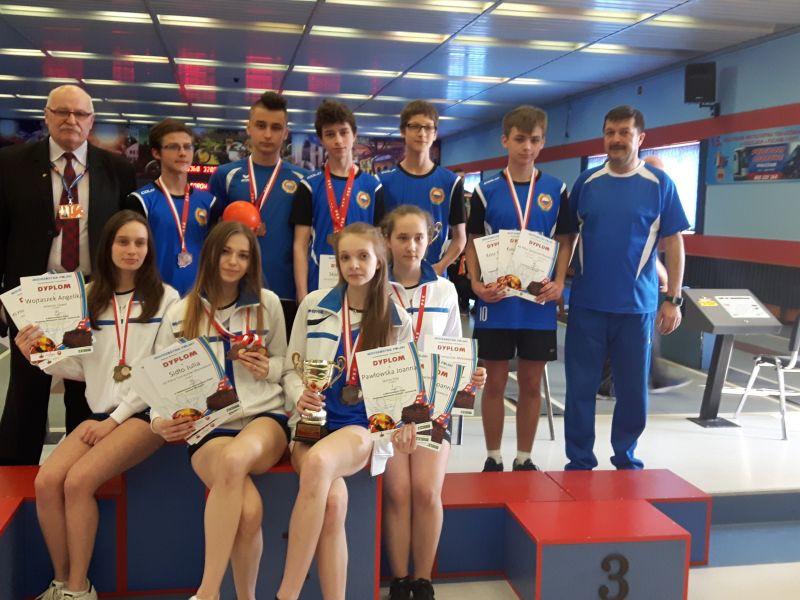 7 medali w Mistrzostwach Polski Juniorów Młodszych w kręglarstwie dla Pilicy