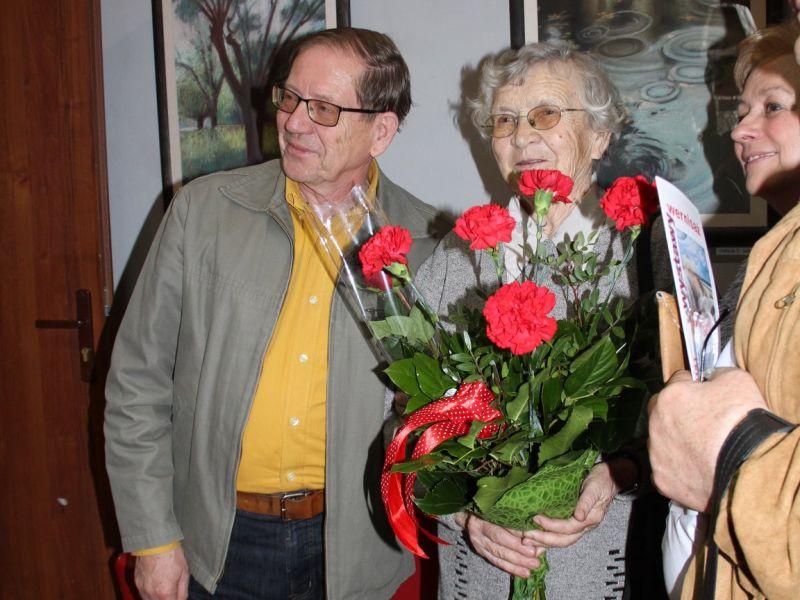 Wernisaż wystawy malarstwa Marii Bunzel