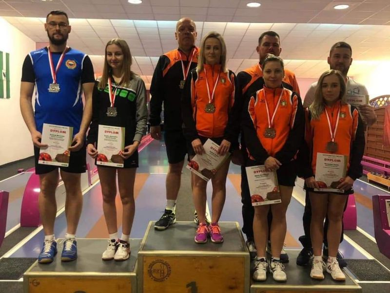 Pilica z medalami w Mistrzostwach Polski Seniorów w kręglarstwie