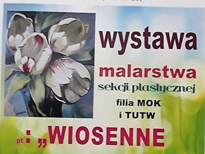 """Zaproszenie na wystawę """"Wiosenne przebudzenie"""""""