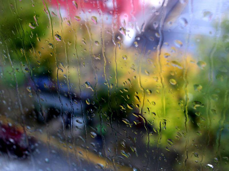 deszcz burze