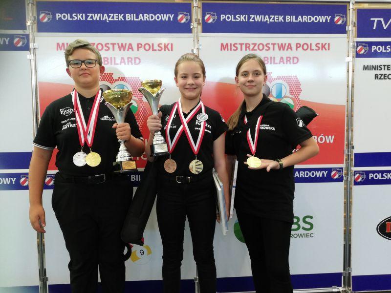 Bilardziści z SP nr 13 Mistrzami Polski