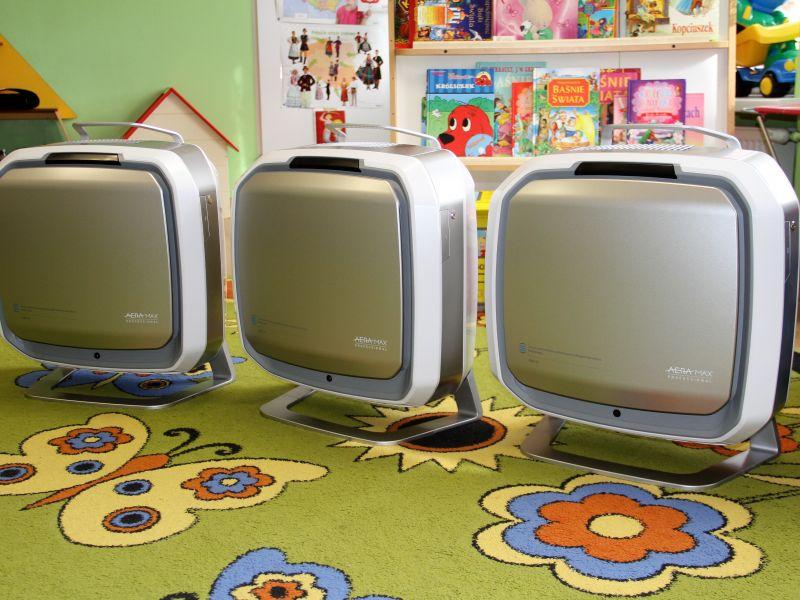 47 nowych oczyszczaczy powietrza dla tomaszowskich przedszkoli