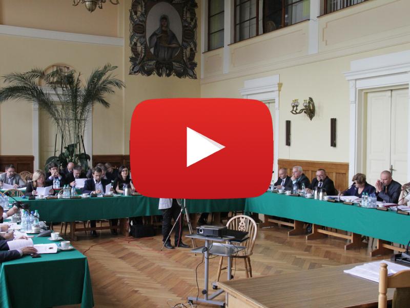 LXXI sesja Rady Miejskiej {WIDEO]