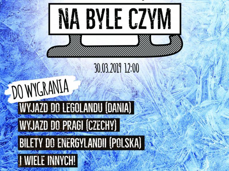 """Zaproszenie na Mistrzostwa Polski w """"Ślizganiu na byle czym"""""""