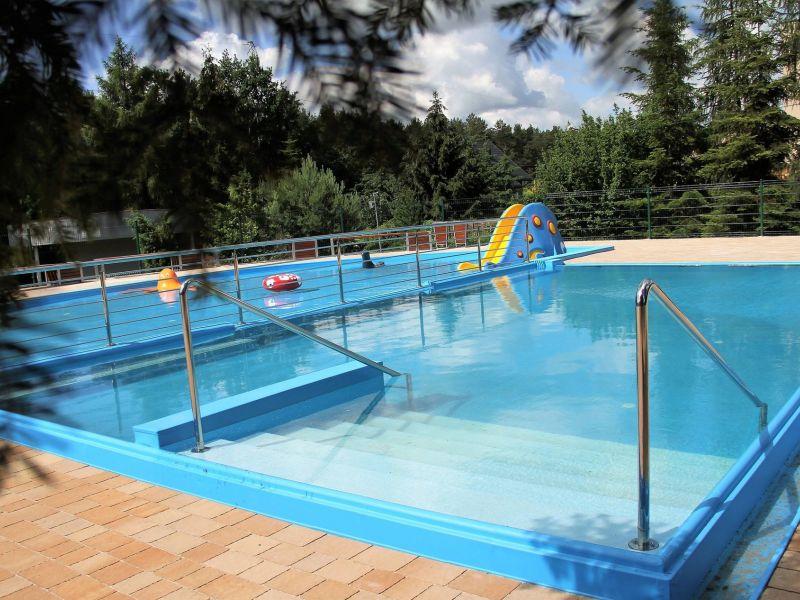 Na zdjęciu basen ORDN wypełniony wodą