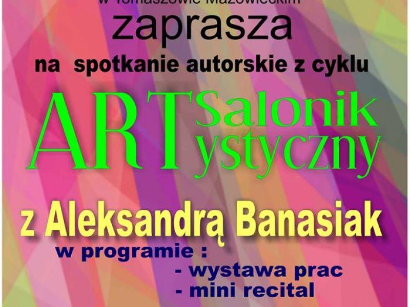 plakat informacyjny, Miejskie Centrum Kultury, spotkanie autorskie