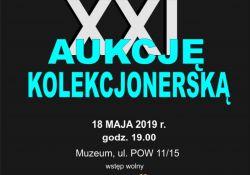 XXI Aukcja Kolekcjonerska