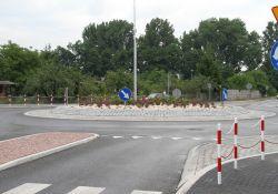 Otwarcie ronda na skrzyżowaniu ulic Legionów i Farbiarskiej już dziś!