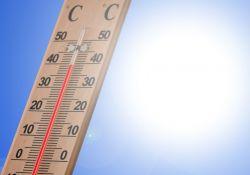niebo termometr słońce