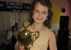 """""""Wąglański Maj Poezji"""".  Nagroda dla Izabeli Rudzkiej"""