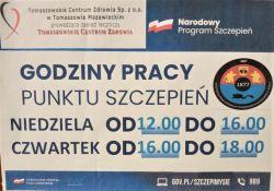 Punkt szczepień w OSP Tomaszów Mazowiecki