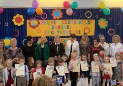 Przedszkolaki recytowały wiersze