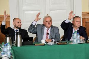 Radni jednogłośni wsprawie absolutorium dla prezydenta Marcina Witko