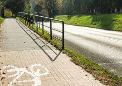 Nowe oświetlenie ścieżki rowerowej w kierunku Grot Nagórzyckich