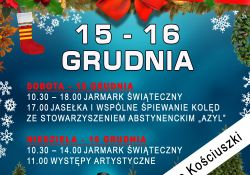 Zaproszenie na Jarmark Świąteczny