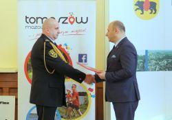 Nowy komendant Straży Miejskiej w Tomaszowie Mazowieckim [WIDEO]