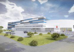 Trwa budowa pierwszej w Polsce Areny Lodowej [WIZUALIZACJE, ZDJĘCIA Z BUDOWY]