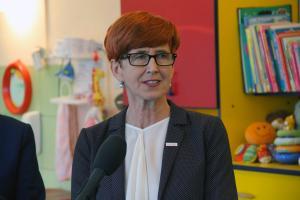 """Minister Elżbieta Rafalska w Tomaszowie Mazowieckim. """"450 mln zł na program Maluch+"""""""