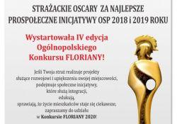 Floriany 2020 ‒ wystartowała 4. edycja ogólnopolskiego konkursu dla strażaków ochotników