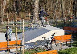W sąsiedztwie parku Bulwary powstał skatepark