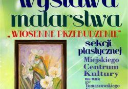 """Wystawa w ratuszu- """"Wiosenne przebudzenie"""