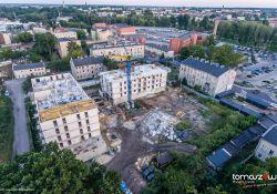 Trwają prace przy budowie Mieszkań TM Plus