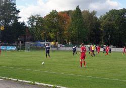 Na zdjęciu mecz piłkarzy Lechii z KS Wasilków