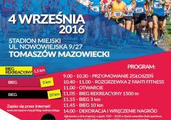 Jubileuszowy Tomaszowski Bieg im. Bronisława Malinowskiego. Zapisz się przez Internet!