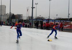 Udany weekend dla młodych łyżwiarzy IUKS Dziewiątka