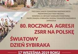Rocznica Agresji ZSRR na Polskę oraz Światowy Dzień Sybiraka (zmiana godziny)