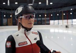 Natalia Maliszewska trenuje w Arenie Lodowej [WIDEO]