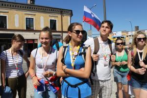 Światowe Dni Młodzieży. Tomaszów gościł Słoweńców